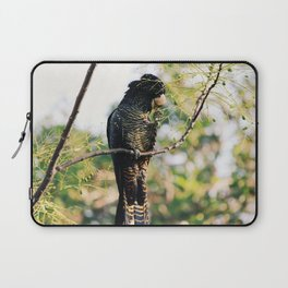 Red-Tailed Black Cockatoo in the Swan Valley Laptop Sleeve