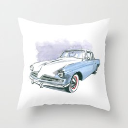 53 Commander Throw Pillow