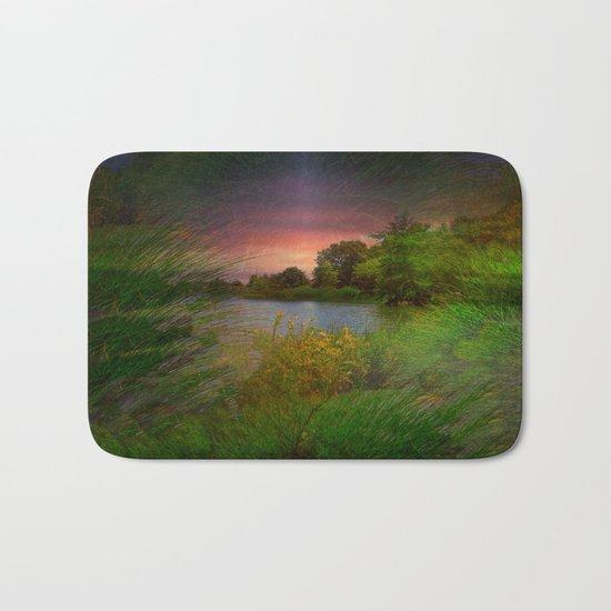 Sunset On The Lagoon Bath Mat