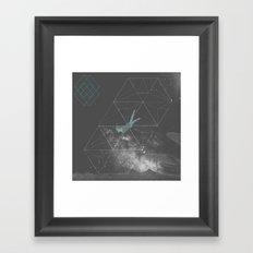 Swmng through Dimensions Framed Art Print