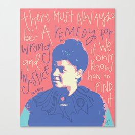 Ida B Wells Canvas Print