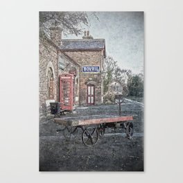 Vintage Hadlow Road in Oils Canvas Print