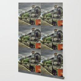 Steam Locomotive 4936 Kinlet Hall Wallpaper