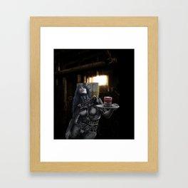 soup tin Framed Art Print