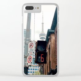 Time Is Free, But Priceless. Clear iPhone Case