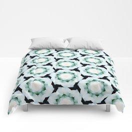 Silver Rosette  Comforters