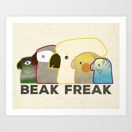 Beak Freak Art Print