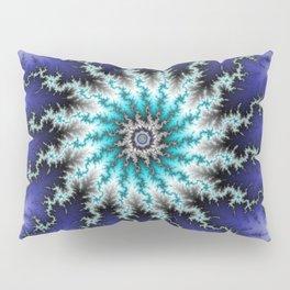 Fractal Blossom Pillow Sham