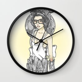 Arrested Notions Wall Clock