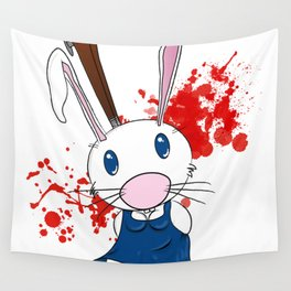 Dawn of the Bunny Wall Tapestry