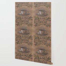 Tea Leaf Reading Wallpaper