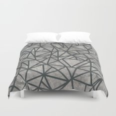 Ab Marb Grey 2 Duvet Cover