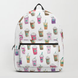 Coffee Cup Party in Marshmallow Backpack