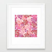 blush Framed Art Prints featuring Blush by nandita singh