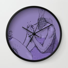 Water Me Wall Clock
