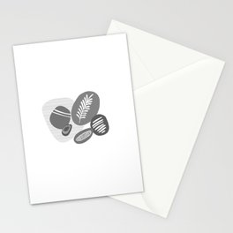 Abstrct pebbles Stationery Cards