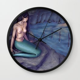 Trapped siren Wall Clock
