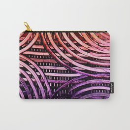 Rainbow Spiral Carry-All Pouch