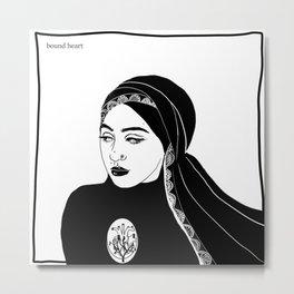 Druck - Amira Mahmood Metal Print