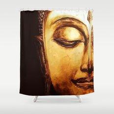 Buddha Meditation Shower Curtain