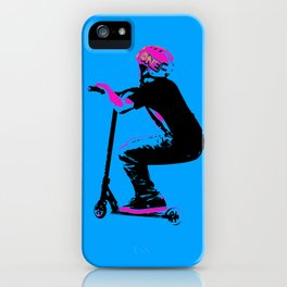Scooter Cruiser - Scooter Boy iPhone Case