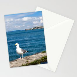 Seagull in San Francisco Stationery Cards