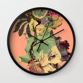 Chaste rememberings Wall Clock