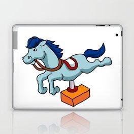 illustration of mechanical horse Laptop & iPad Skin