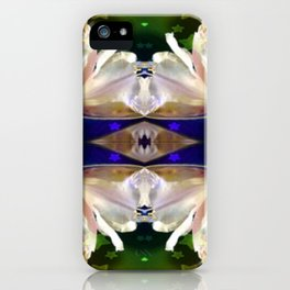 Flowers in the Starlight iPhone Case