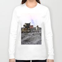 history Long Sleeve T-shirts featuring Changing history by Purshue