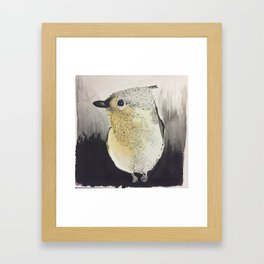 Tufted titmouse Framed Art Print