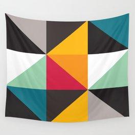 Geometric Pattern #30 (triangles) Wall Tapestry