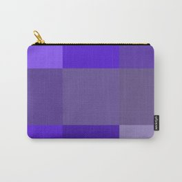 Purple fantasy grid Carry-All Pouch