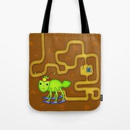 Kawaii Ant Tunneling Home  Tote Bag