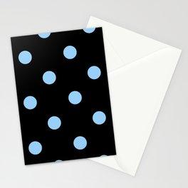 blue-polka-dot Stationery Cards