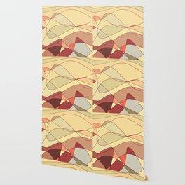 Gold Waves Wallpaper
