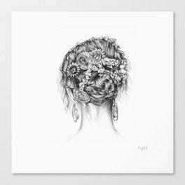 Designer Hair Canvas Print