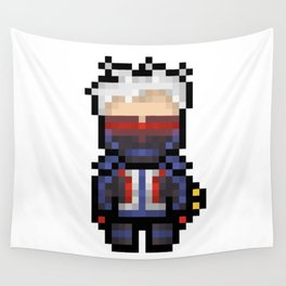 soldier 76 16-bit Wall Tapestry
