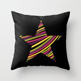 String star Throw Pillow
