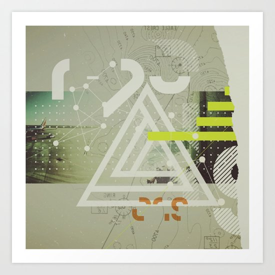 Coordinates Art Print