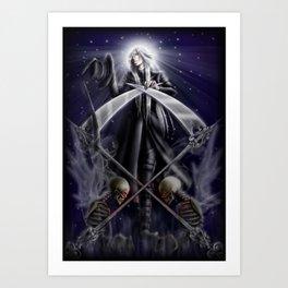 Saint Undertaker Art Print