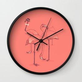 Photobombed Wall Clock