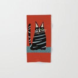 Tabby cat Hand & Bath Towel