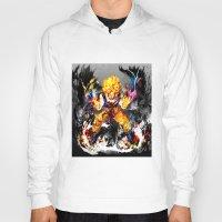 goku Hoodies featuring Goku by ururuty