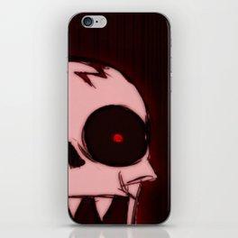 Screaming Wraith Skull iPhone Skin
