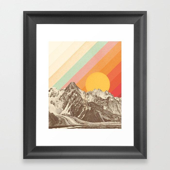 Mountainscape 1 Gerahmter Kunstdruck