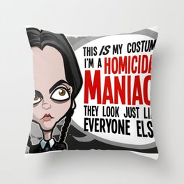 This Is My Costume Throw Pillow
