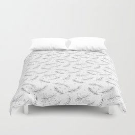 Holiday Leaves Pattern Duvet Cover