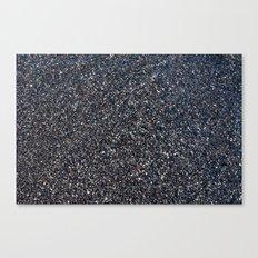 Black Sand I Canvas Print