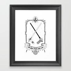 The Force! Framed Art Print